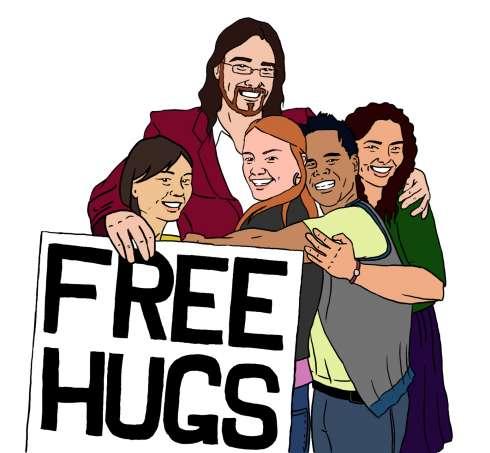 Juan Mann, Rich Razgaitis, Raz Blog, Free Hugs